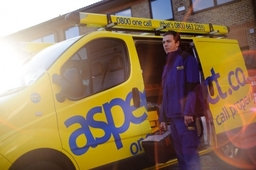 aspect.co.uk engineer and van