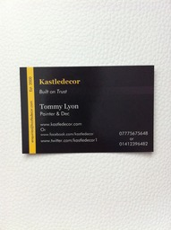 Glasgow based painter and Decorators