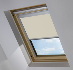 Cream Sky Light Roof Blind
