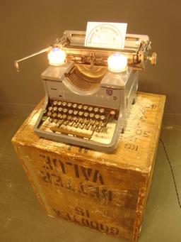 Industrial Typewriting Lamp