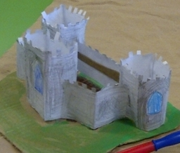 Learning about  Medieval castles