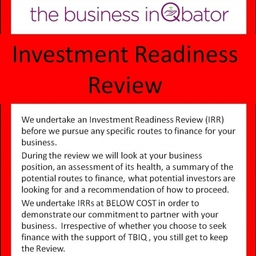 Flyer Investment Readiness Review