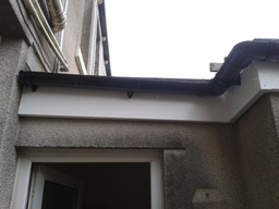 Facsia boards and gutters
