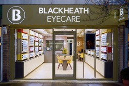 Blackheath Eyecare store front night time