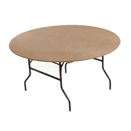 Round tables from 3.ft to 6ft