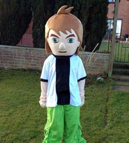 Ben 10 mascot costume from £40