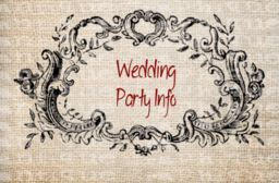 All your wedding info in one place