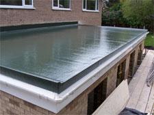 Fibreglass Flat Roof