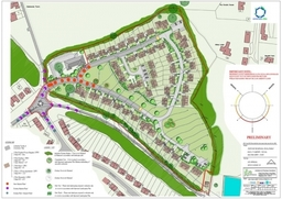 Residential Development Layout Master Plan - Architects in Sussex