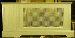 Custom built radiator covers
