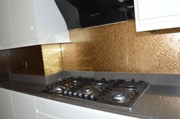 Deep Gold Premium Design Splashbacks