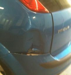 Before repair!
