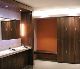Celebrity Golfer Locker Room