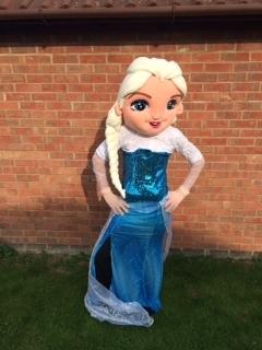 Elsa mascot costume from £40
