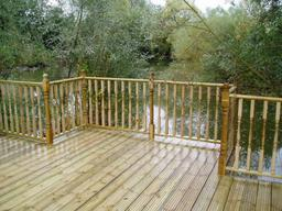 Decking installed in Wiltshire