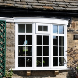 Double Glazed Bay Window installation by SLW