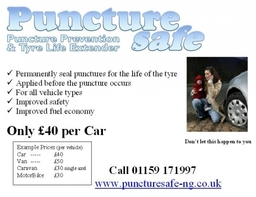 Amazing prices. Protect your Family and Car. Peace of mind driving for less than a new tyre