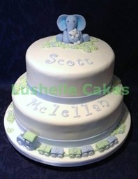 Little Blue & Ted Christening