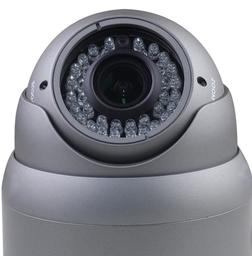 CCTV Camera On Grey Base