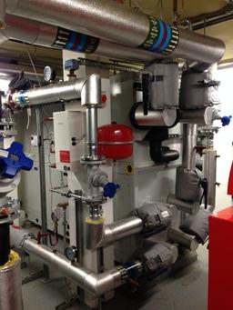 Brighton Music school ground source heat pump