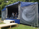 Outdoor Stage at a Festival