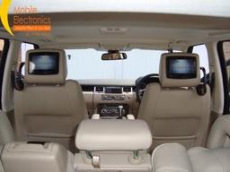 Range Rover Sport Fitted With Rosen Av 7900 Dvd Headrest System.