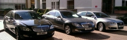 Audi A8 LWB and Mercedes S Class' LWB