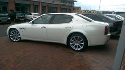 Maserati Pearl White Wrap