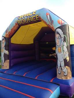 Space Bouncy Castle