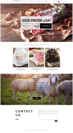 Farm Shop Website and eCommerce