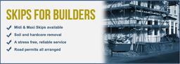 Skips for builders