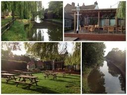 Canal Side Beer Garden