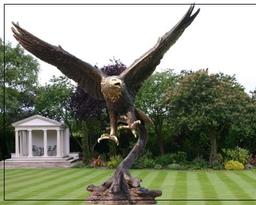 Classical Garden Statues Ornaments Bronze Ls
