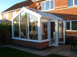 Conservatory installed in Peterborough