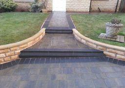 Block-paved-steps