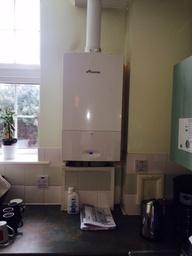 New Boiler install