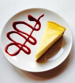 Melt Cafe Lemon Cheesecake