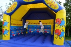 Birthday bouncy castle. Large 15x15ft