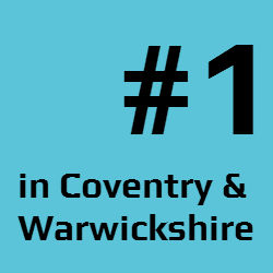 No. 1 in Coventry & Warwickshire
