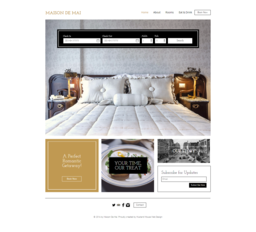 Hotel Website with Booking
