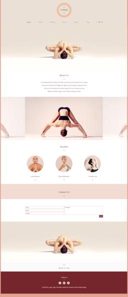 Yoga Studio Website