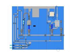 Water analisys board