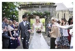 Wedding Photography Confetti Run Manchester