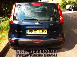 Nissan Note Parking Sensors Supplied And Fitted