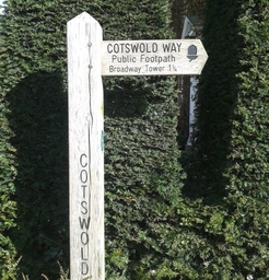 Cotswolds Way Sign