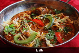 Balti Indian Dish