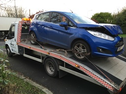 Ford Fiesta Accident Recovery
