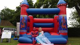 spiderman bouncy castle hire hartlepool,billingham