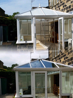 Transform your conservatory with a glass roof