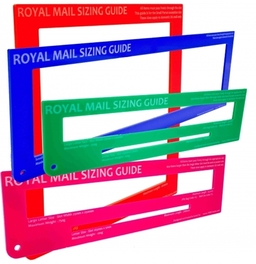 Royal Mail Postal Guides  - Designed by us.